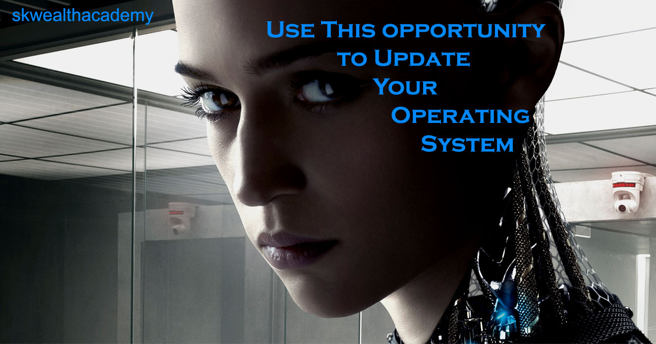 update your operating system, life improvement, life hacks