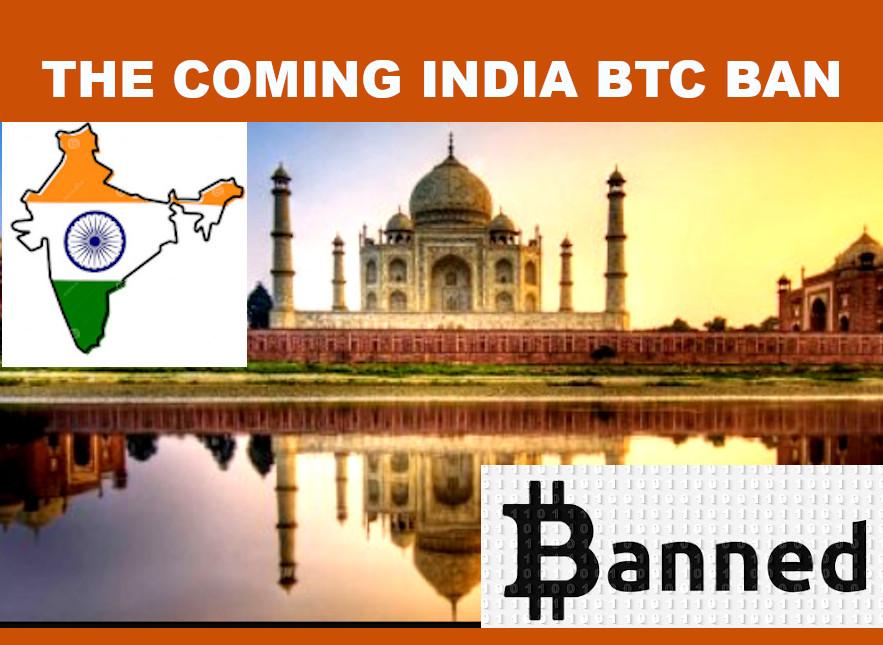 Indian bitcoin ban in 2021