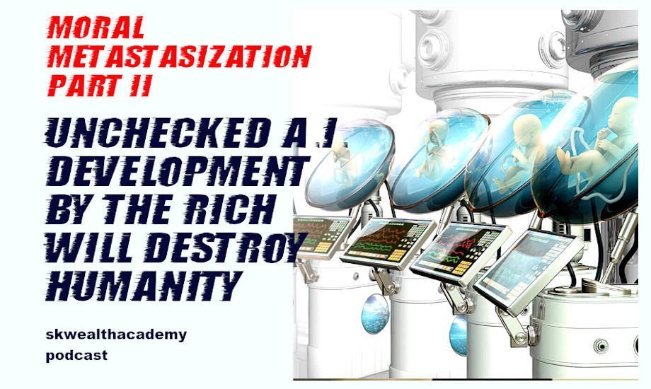 the danger of unregulated AI development